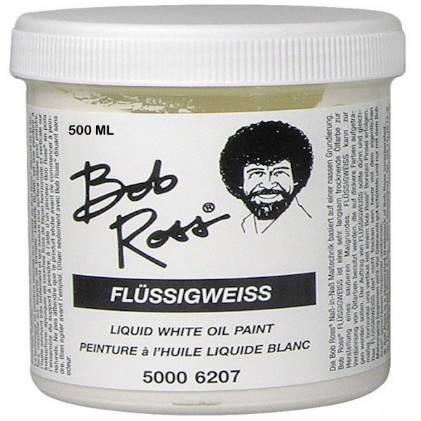 Bob Ross liquid White 500ml